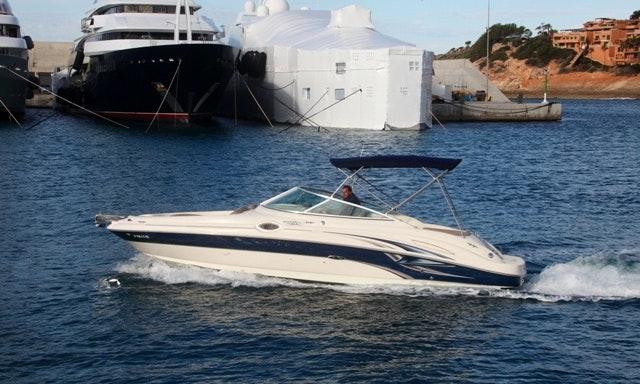Luxury Sea Ray 270 Sundeck Bowrider Spain in Spain | GetMyBoat