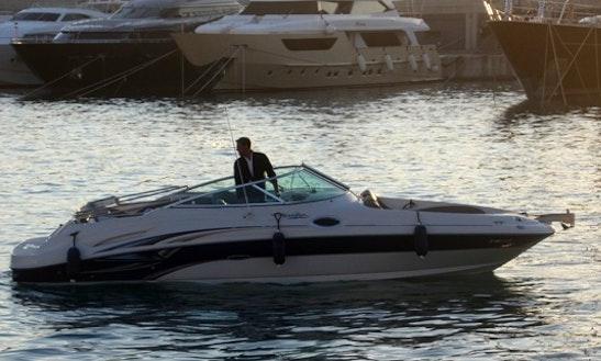 Luxury Sea Ray 270 Sundeck Bowrider Spain In Spain