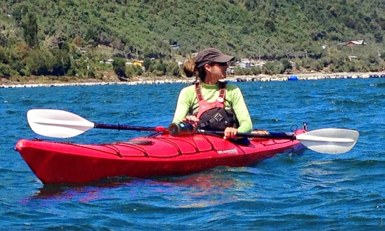 Kayaking for 2 or 4 Days 2 days in the 1st fjord in Patagonia