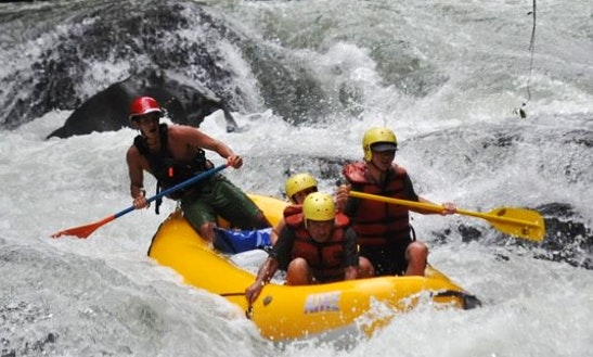 Guided Rafting Tours On  Balsa River