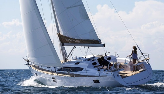Charter On Elan 45 Imp. In Biograd Na Moru