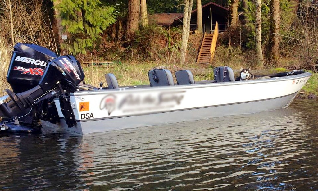 Jet boat guided fishing service in oregon getmyboat for Jet fishing boat