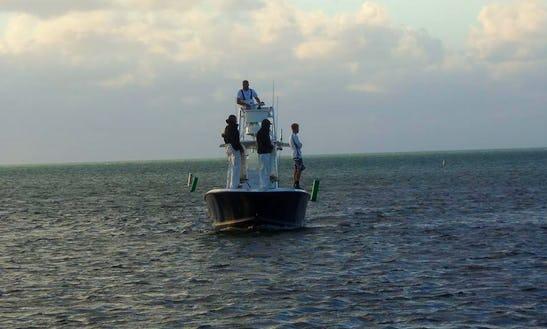 17' Flats Fishing Boat In Marathon, Florida