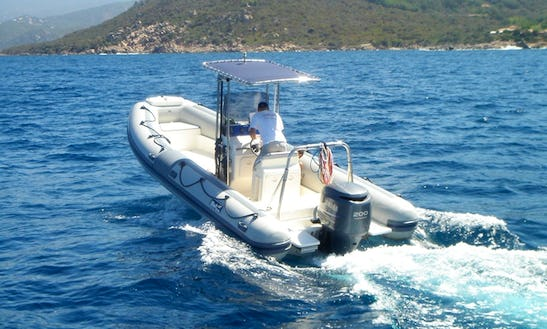 24ft Bwa 750 Open Rib Diving Charter In Villefranche-sur-mer, France