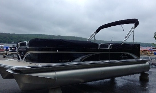 23' Pontoon Rental In Hewitt, New Jersey