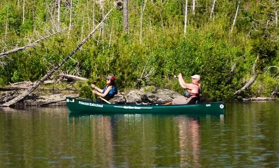 16' Canoe Rental In Iron Mountain, Michigan