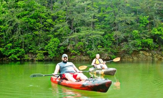 Single Kayak Rental In Lexington, Mi