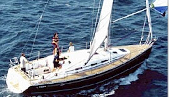 Charter On Elan 40 In Biograd Na Moru