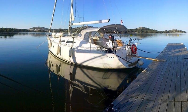 Charter on Elan 344 Impression in Biograd na Moru