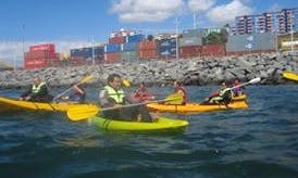 Guided Kayak Exploration in Valparaíso, Chile