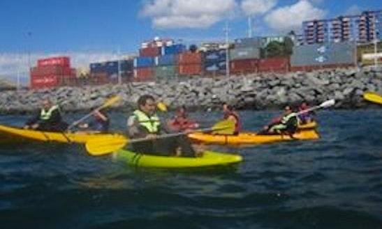 Single Kayak Guided Exploration In Valparaíso
