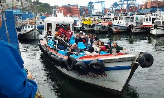 Explore Valparaíso, Chile On A Passenger Boat