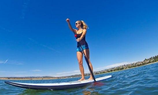 Sup & Surf Lessons In Encinitas, California