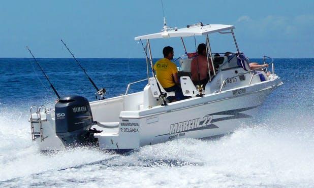 Marlin 22' Boat Ride Off the Island of São Miguel