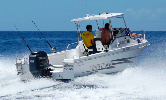 Marlin 22' Boat Ride Off The Island Of São Miguel