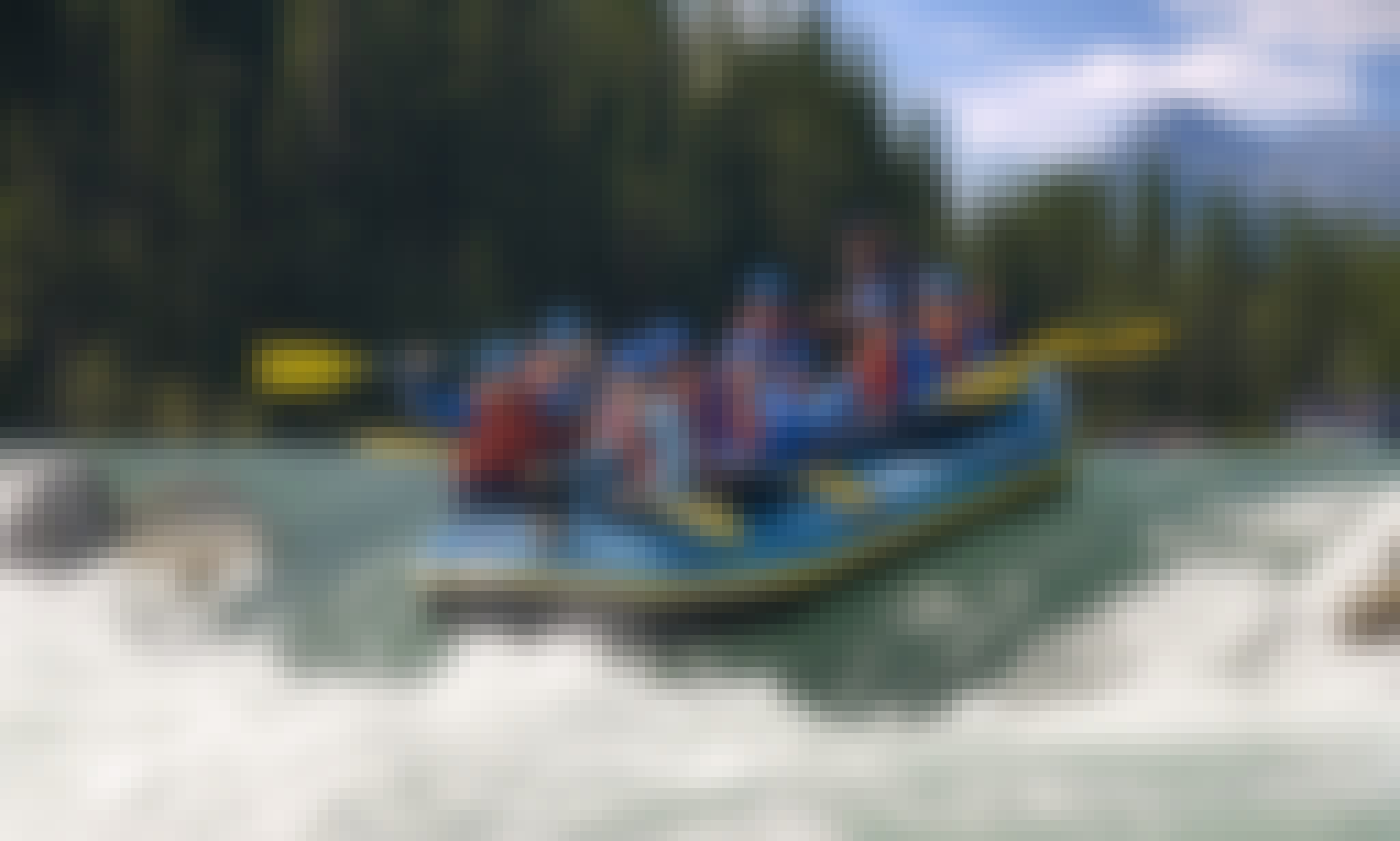 Whitewater Rafting in Alberta, Canada