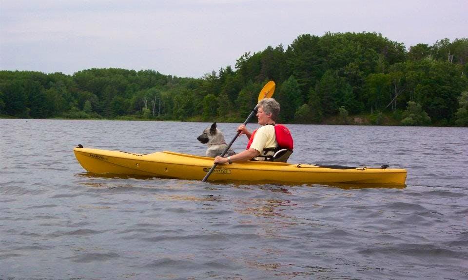 12' Solo Kayak Rental in Iron Mountain, Michigan