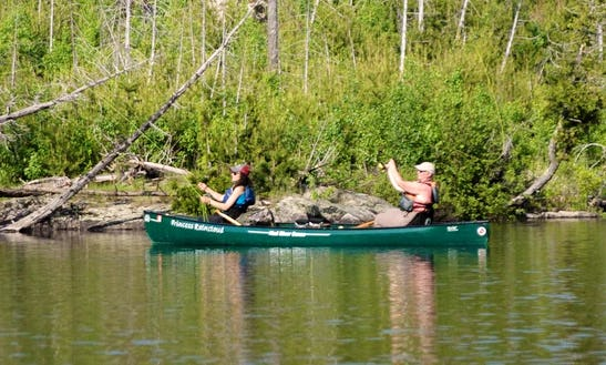 Fishing Canoe Rental In Iron Mountain, Michigan