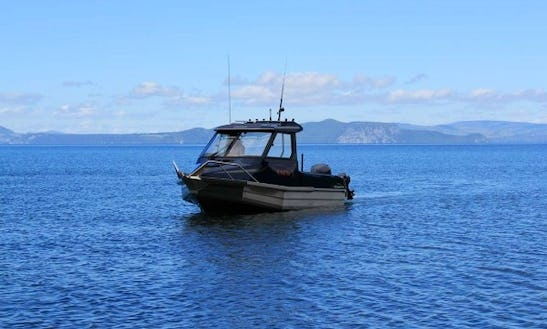 20' Stabicraft Hardtop Boat In New Zealand