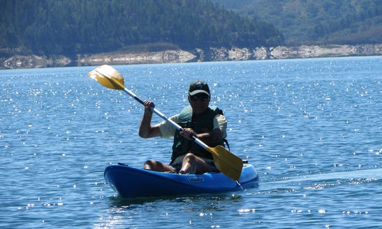 Single Kayak Rental In Barragem De Santa Clara, Portugal