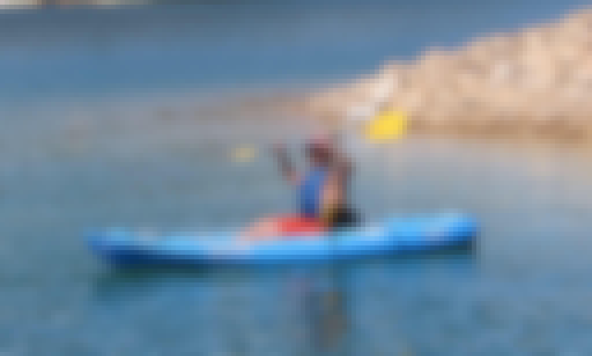 Single Kayak Tours in Barragem de Santa Clara, Portugal