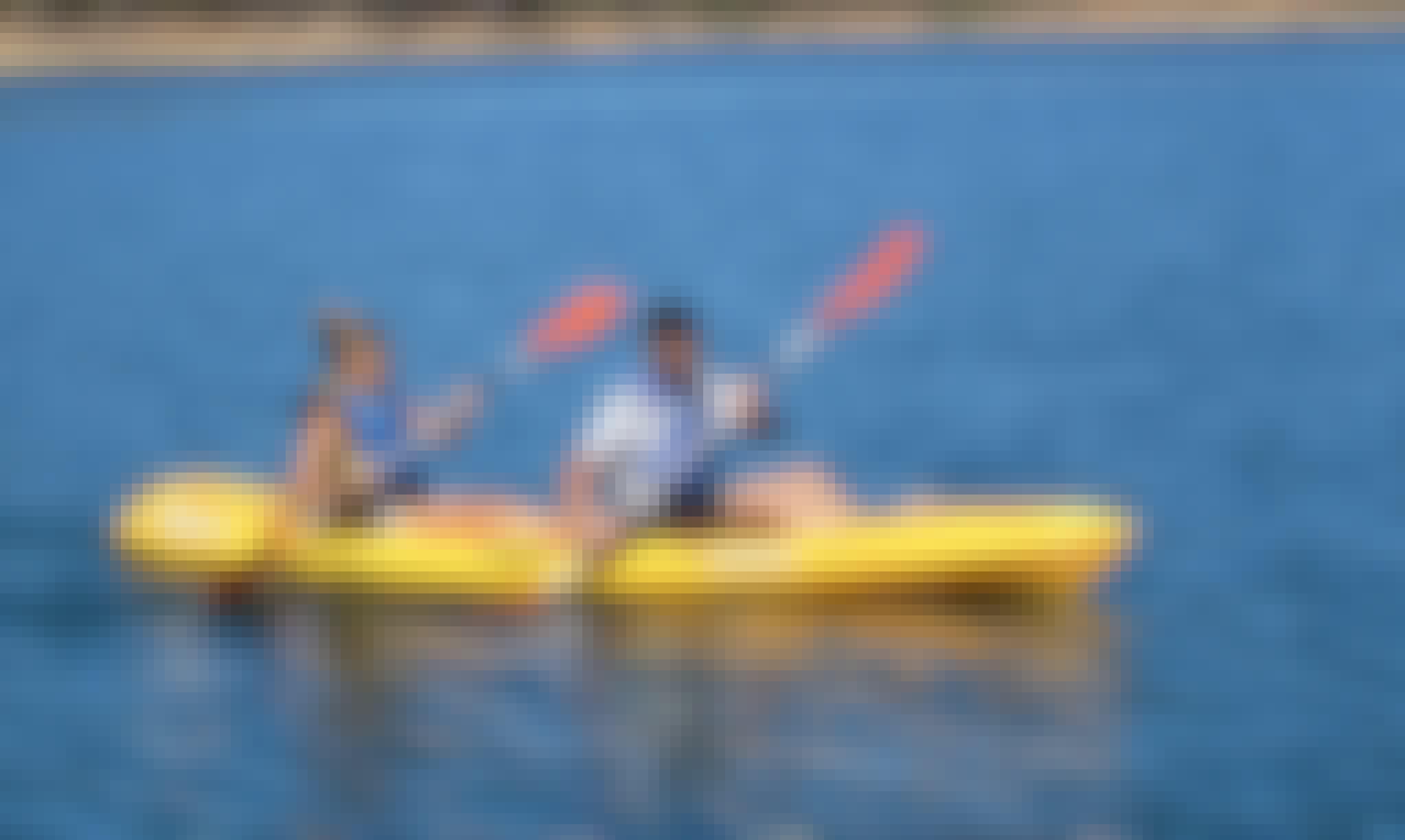 Doubles Kayak Tours in Barragem de Santa Clara, Portugal