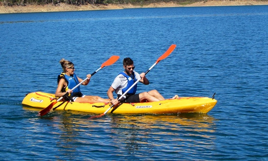 Doubles Kayak Rental In Barragem De Santa Clara, Portugal