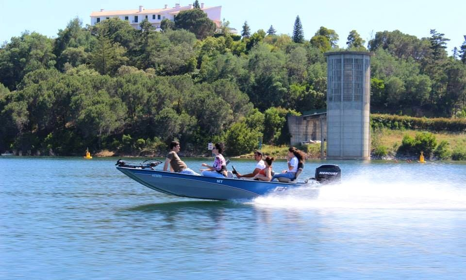 Boat Tours & Guided Fishing in Barragem de Santa Clara, Portugal