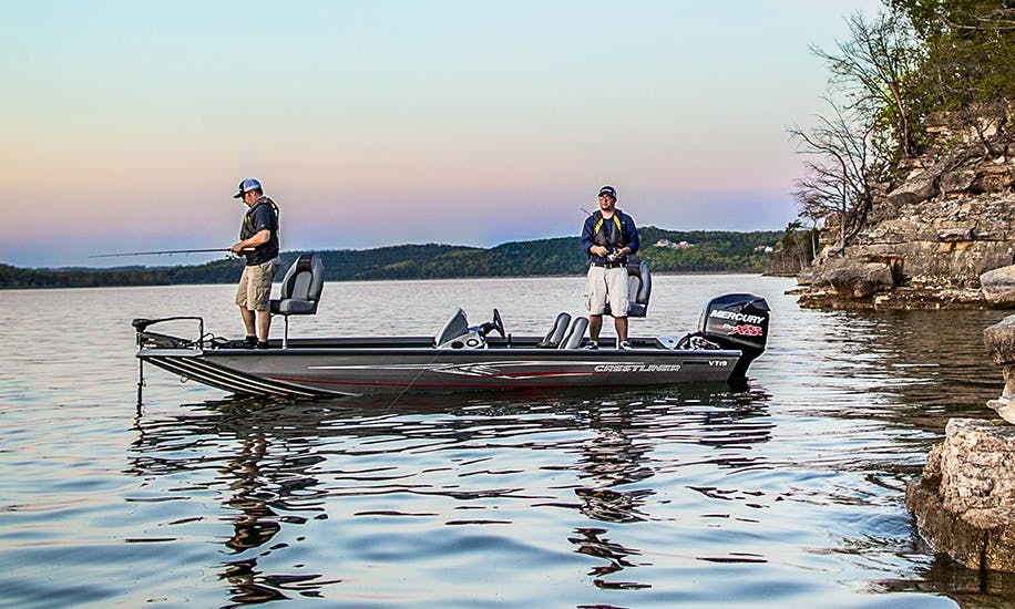 Bass Boat Fishing Charter in Oshkosh, Wisconsin
