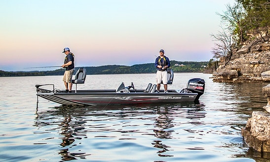 Bass Boat Fishing Charter In Oshkosh, Wisconsin