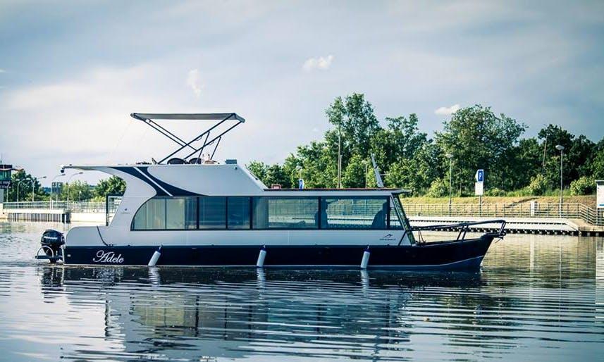 Luxury ''Adele'' Houseboat Charter in Czech Republic