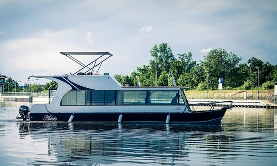 Luxury ''adele'' Houseboat Charter In Czech Republic