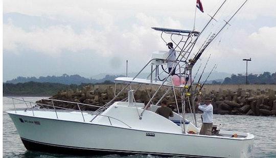 32' Hatteras Charter In Quepos, Costa Rica