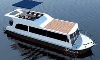 Luxury ''Charlotte'' Houseboat Charter in Czech Republic