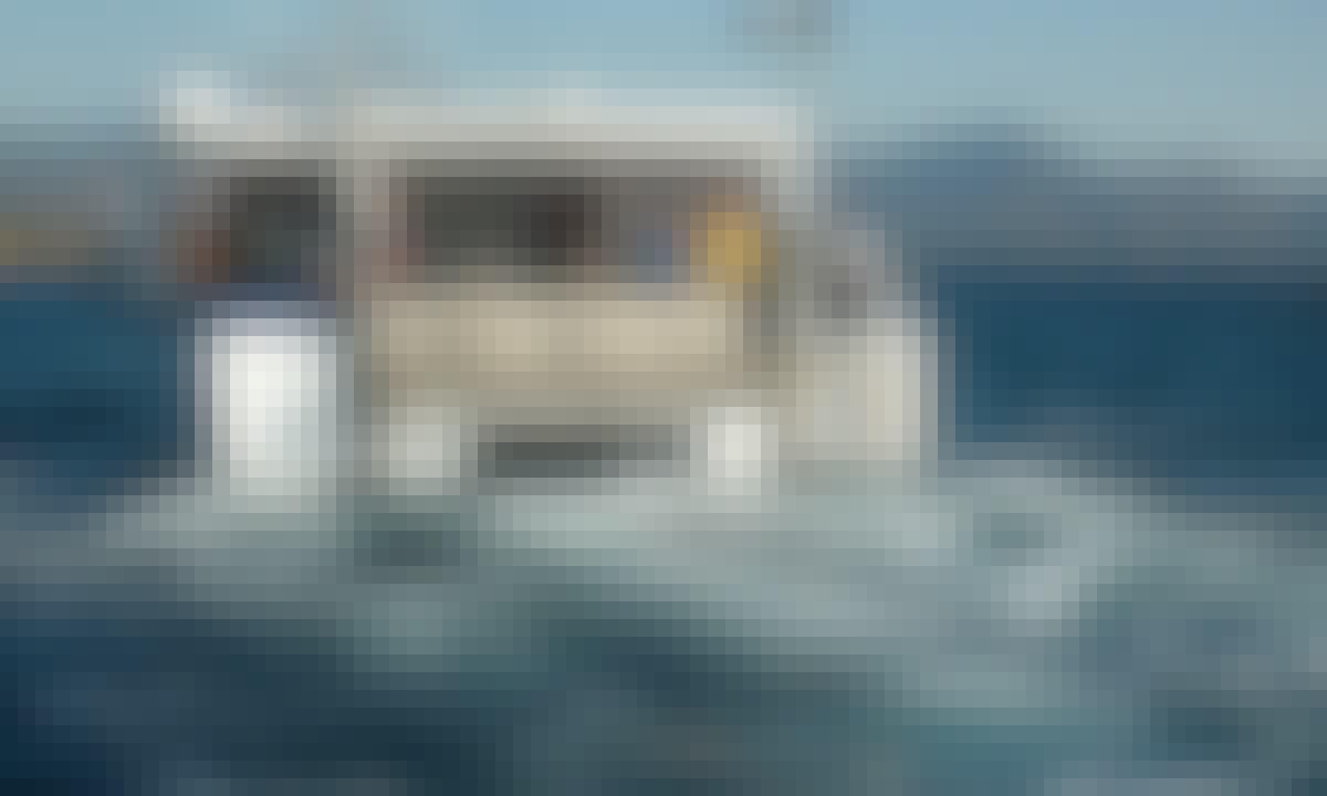 Power Catamaran Rental in El Port de la Selva, Spain