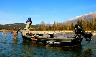 Guided Drift Boat Fishing in Fernie Canada