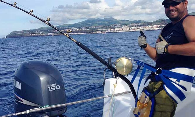 Big Game fishing in S. Miguel island - Azores
