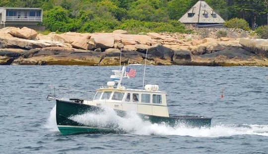 35' Head Boat Rental In Gloucester, Massachusetts