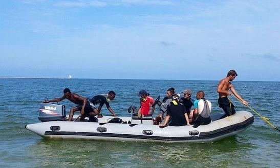 Zodiac Rhib Dive Boat In Madagascar