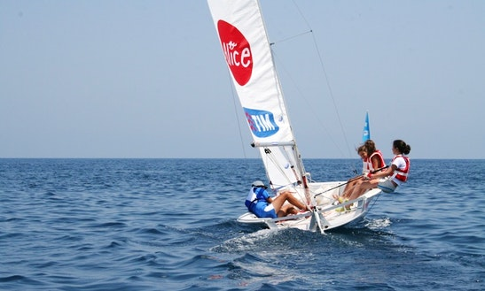 Laser 2 Dinghy Rental In Porto Cervo