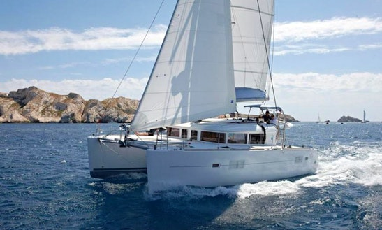 Charter Lagoon 400 Sailing Yacht In Porto Cervo