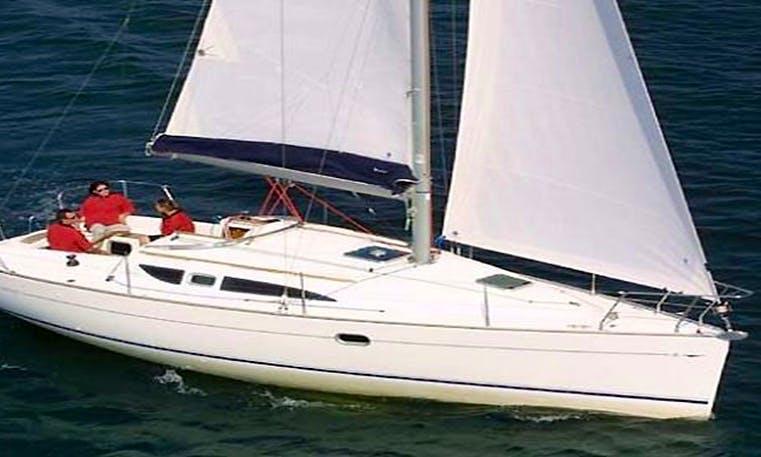 Sailing Monohull 'THREE ESTATXA' Charter in Spain