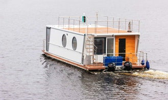 Luxury 8 Person Houseboat Charter in Finland!!