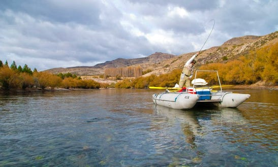 Guided Fly Fishing Boat In Argentina