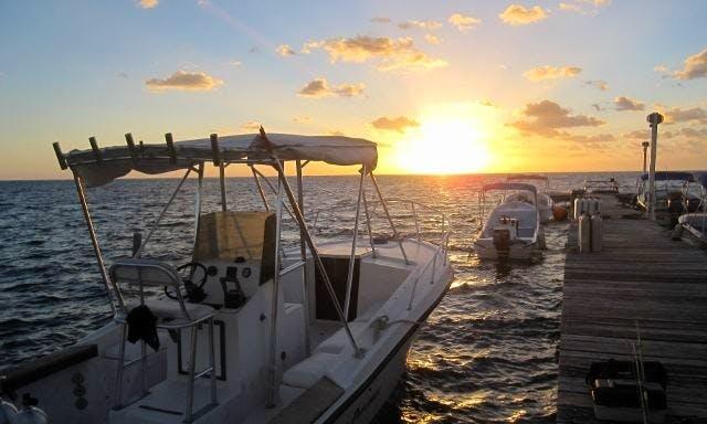Half Day/Full Day Diving Boat Charter in San Pedro, Belize