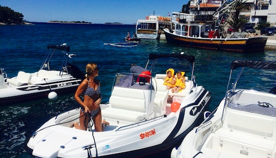 Rent A Zar 53 Rigid Inflatable Boat For 8 Person In Biograd Na Moru