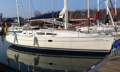 """Charter on """"Loxley B"""" Sun Odyssey 37 Sailboat in Southampton"""