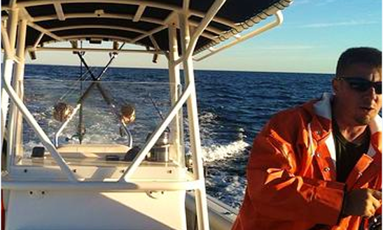 25' Center Console Charter In Truro, Massachusetts