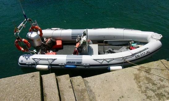 Rib Diving Charter In Setubal, Portugal