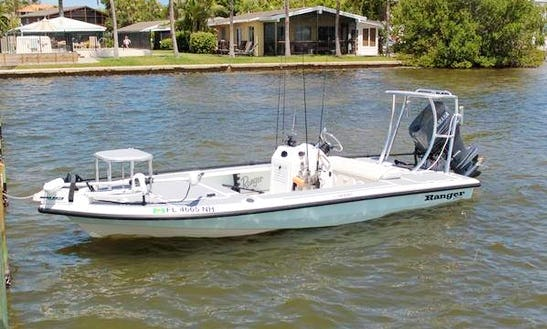 17' Ranger Ghost Center Console Rental In Vero Beach, Florida
